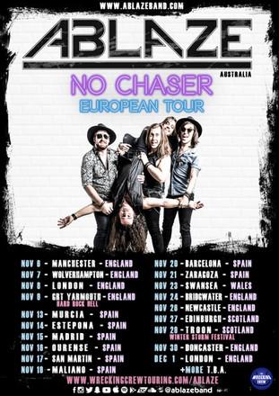 Ablaze - No Chaser - European Tour Poste