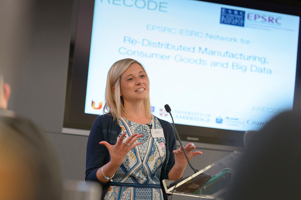 Dr. Fiona Charnley Introducing the RECODE network