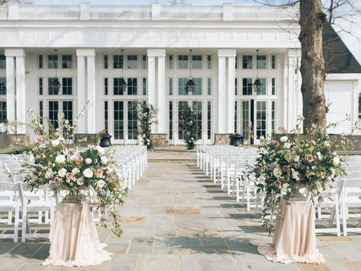 The Ryland Inn, a wedding in early spring