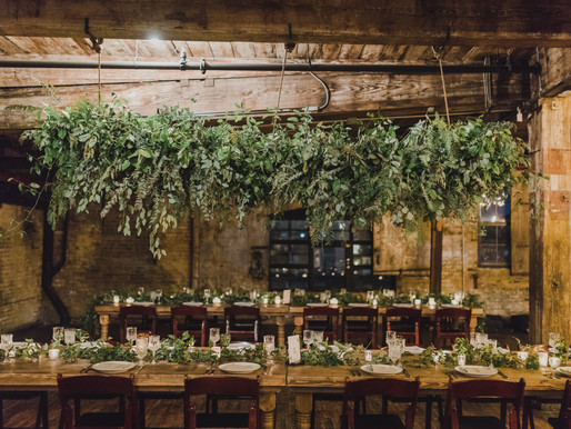 A  Luscious November wedding at the greenpoint loft, brooklyn ny
