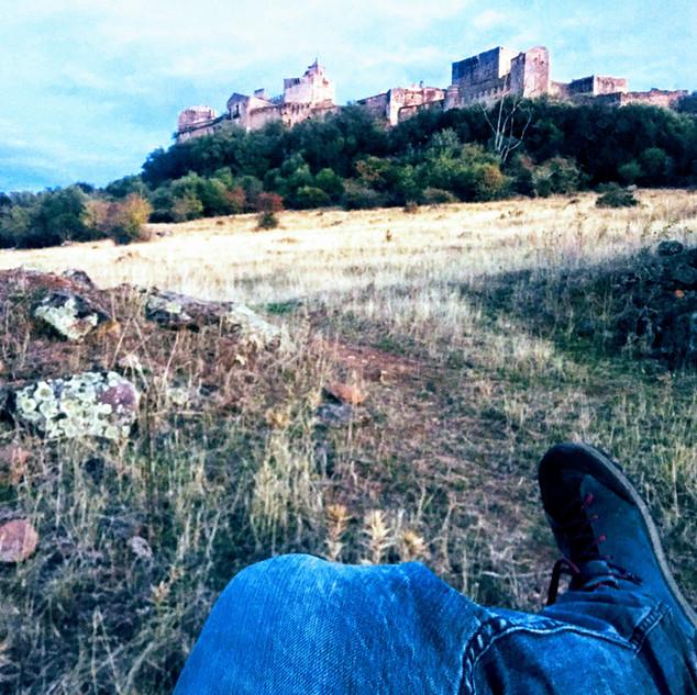 ladera de Castillo de Azagala
