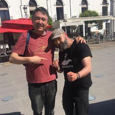 Con Pepe Sanabria