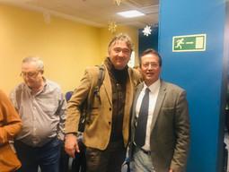 con Jose Manuel Dolader