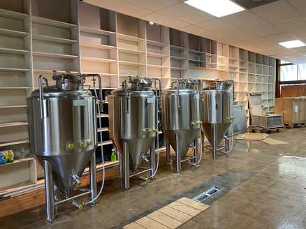 Fermenters in place