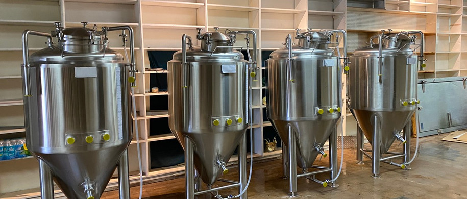 Fermenters placed