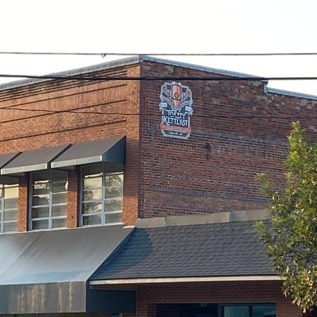 Logo view on Lewis Street