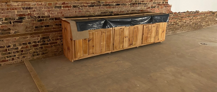 Back bar in place