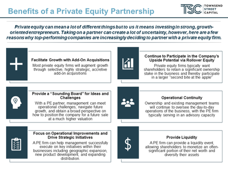 Benefits of a Private Equity Partnership