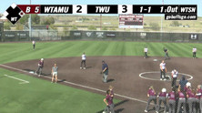 West Texas A&M 2019 Softball PxP Highlights vs Texas Womans (4-19-2019)