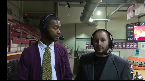 James Hadnot and Angelo Pontello West Texas MBB Pregame Report