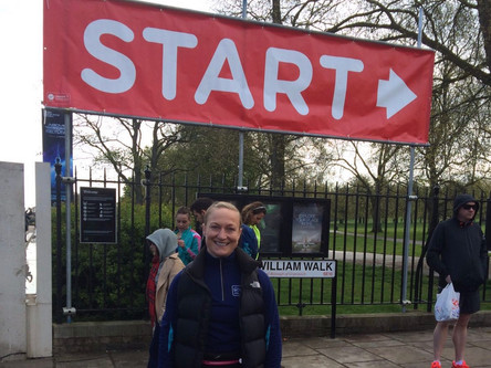 Owner of Mamma's Fitness completes first Marathon!