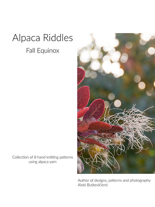 Alpaca Riddles. Fall Equinox (Eng)