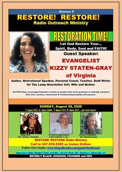 Restore Restore August 30, 2020