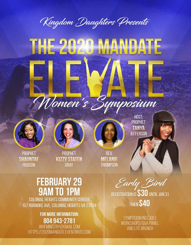 The 2020 Mandate ELEVATE