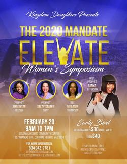 The 2020 Mandate ELEVATE