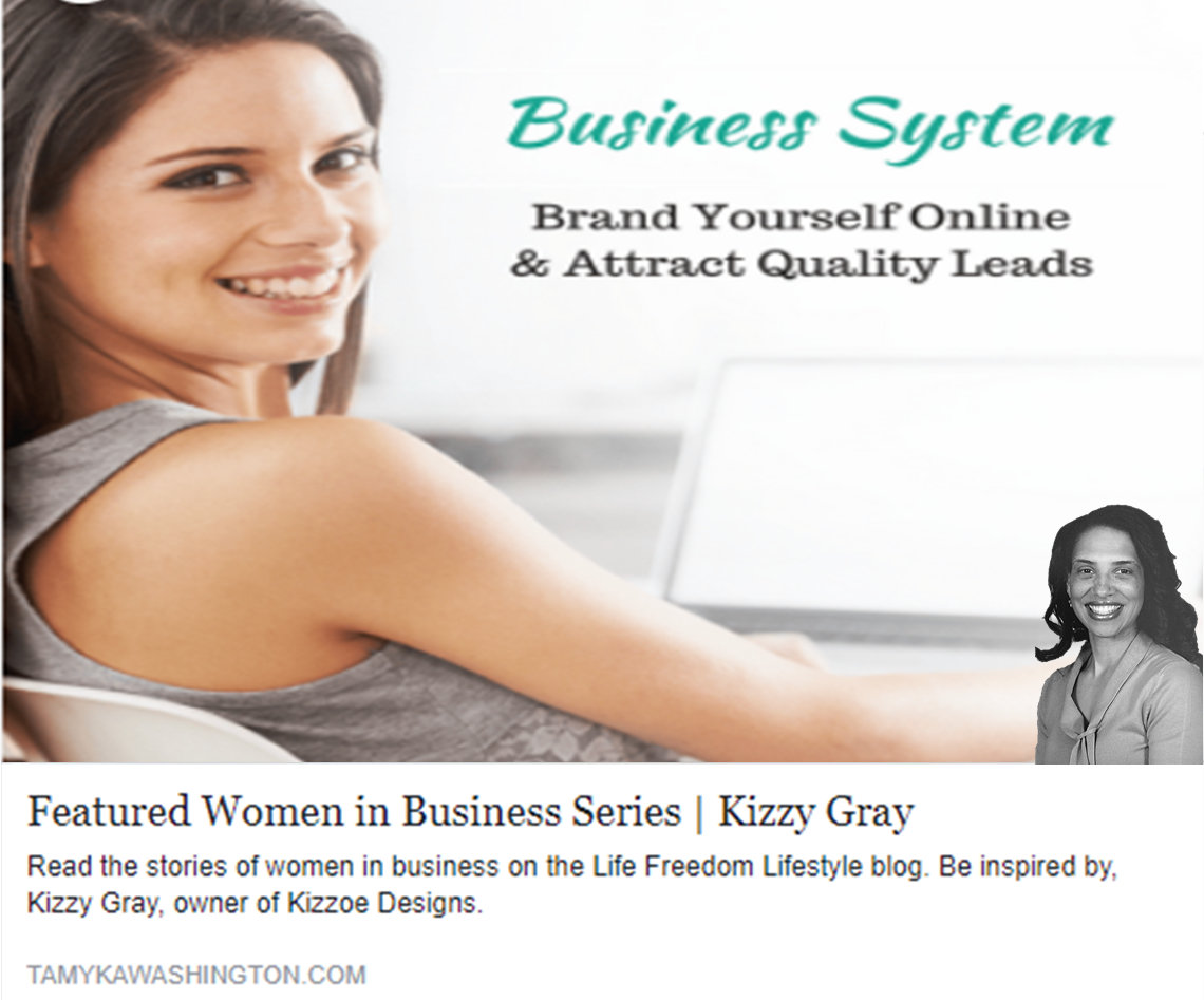 Featured Women in Business Kizzy Staten Gray 2