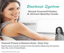Featured Women in Business Kizzy Staten Gray 2