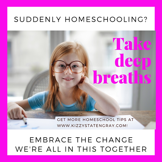 Suddenly Homeschooling Kizzy Staten Gray