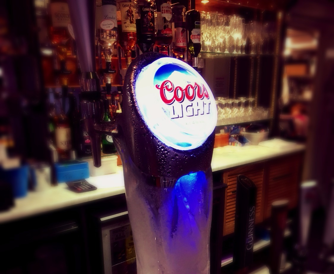 Coors Light Ice Pump