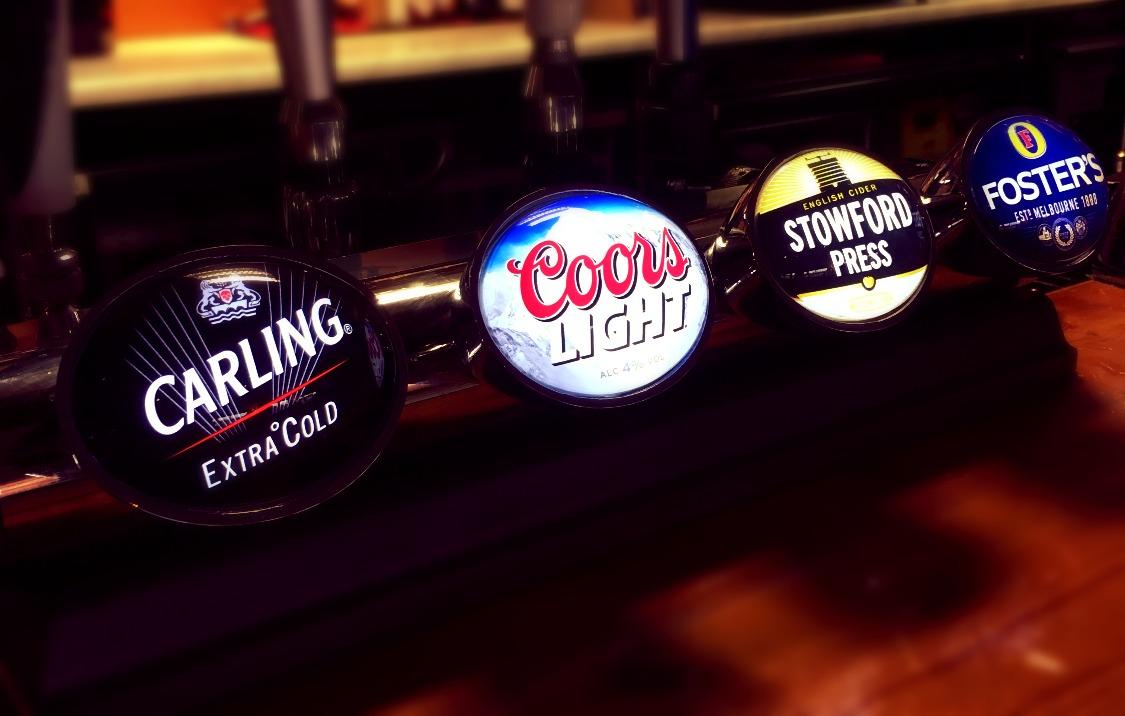 Huge range of beers.