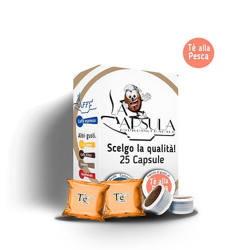 CAPSULE AL GUSTO TE' ALLA PESCA - 25pz