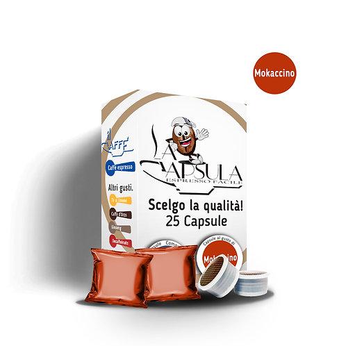 CAPSULE AL GUSTO MOKACCINO - 25 pz