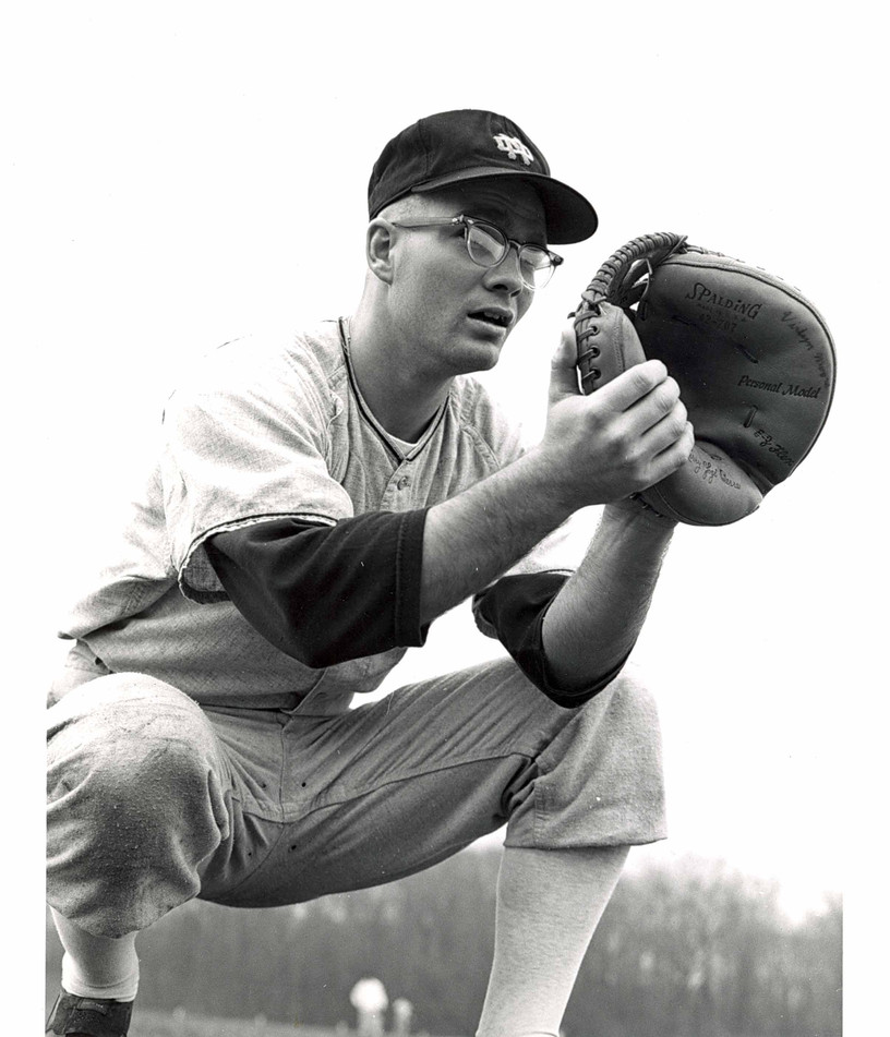 Catcher, Notre Dame Baseball Team, 1967