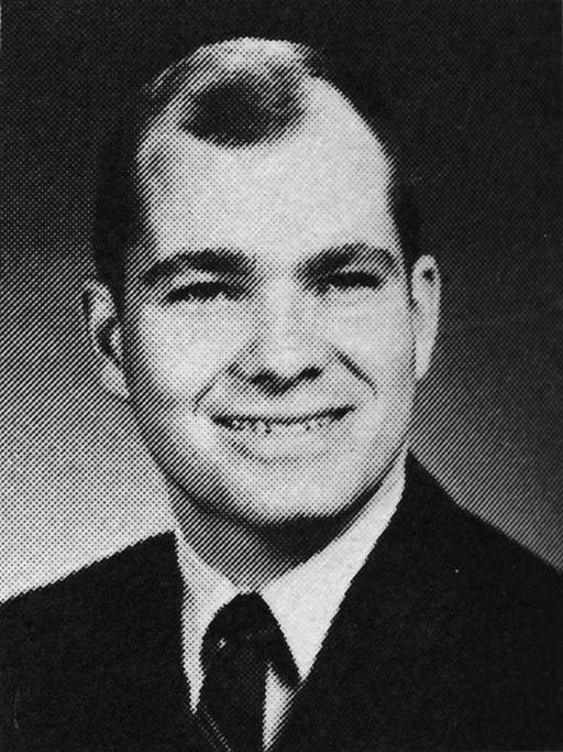 Notre Dame Student Joe Kernan 1968