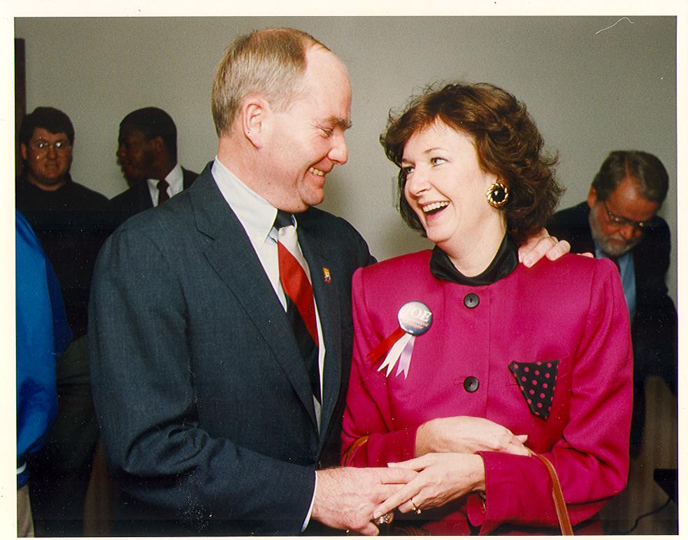 Lt. Governor Joe Kernan and Maggie Kernan