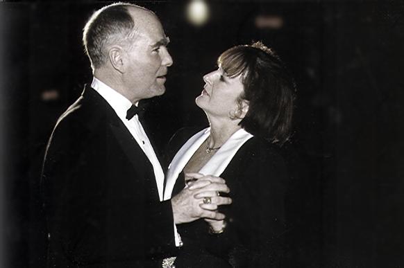 Lt. Gov. Inauguration Joe & Maggie dancing