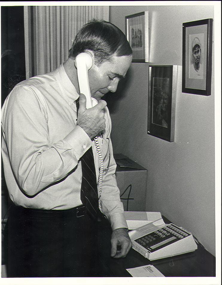 1988 first week as South Bend Mayor