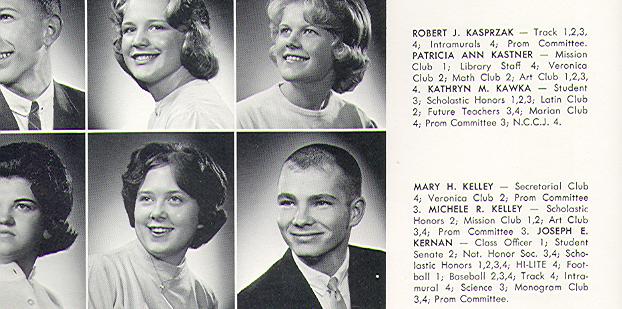 Joe Kernan High School Yearbook