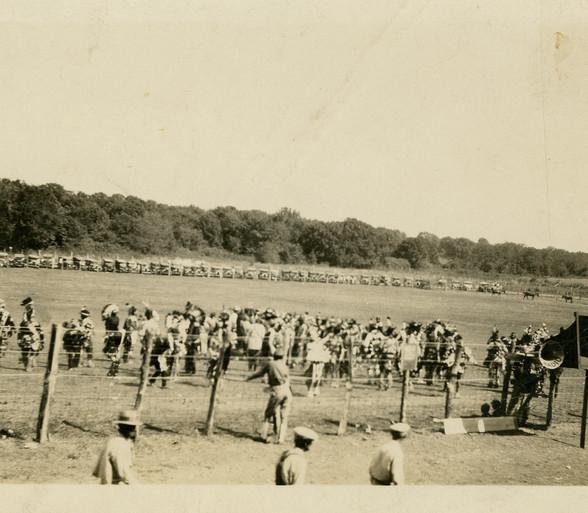 A tribal gathering, 1929