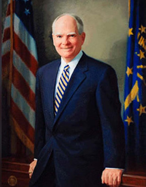 Official Indiana Governor Portrait