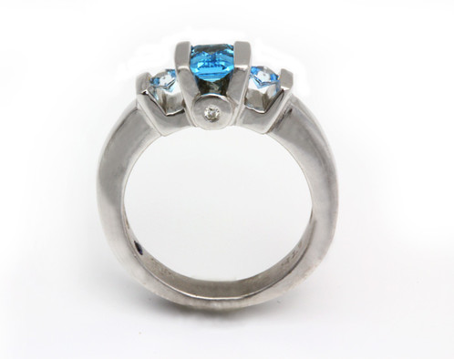 rings and accent in ring topaz sky diamond v white blue frame gold engagement p