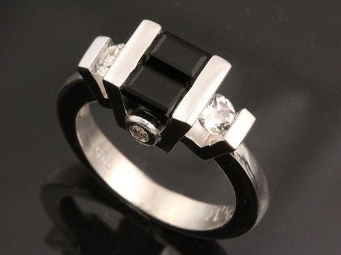 Dual Onyx Ring