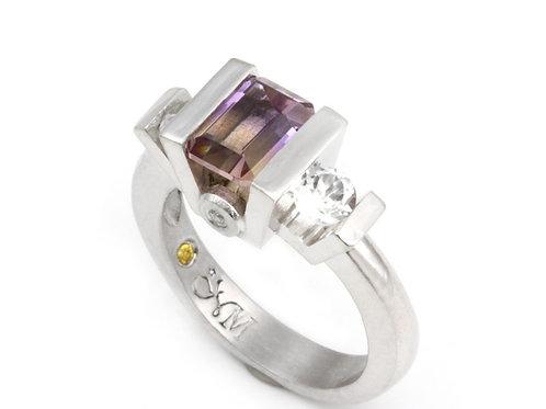 Classic Ametrine Ring