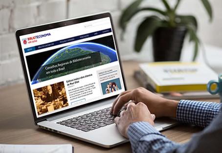 Lançamento do site Biblioteconomia em curso