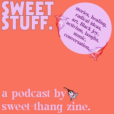 SWEET STUFF podcast logo