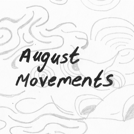August Movements - journal scans Jess P