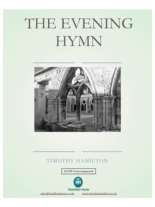 The Evening Hymn - Single Licence PDF Download (1 Copy Only)