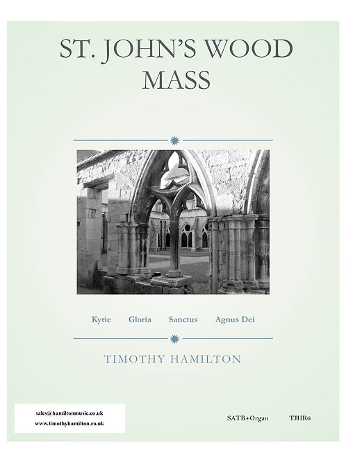 St. John's Wood Mass SATB (Multiple Licence PDF - 21 -30 Copies)