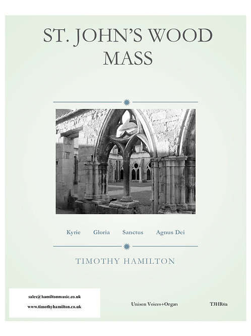 St. John's Wood Mass UNISON (PDF Multiple Licence - 5-10 copies)