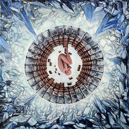 Cryo - by Mariusz Zawadzki, print on canvas