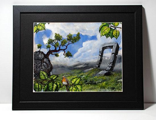 At The Gates- by Mariusz Zawadzki- free shipping UK, framed painting
