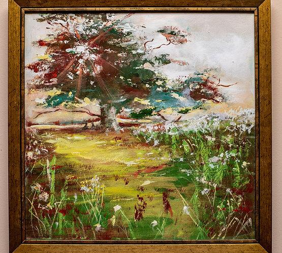Morning Light...- Acrylic painting on canvas, original artwork