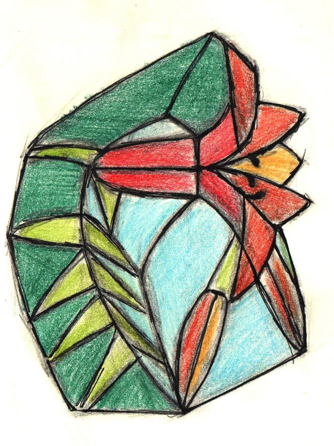 stained glassbox-short story... * krótka historia szkatułki witrażowej...