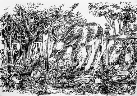 illustration for the children's book