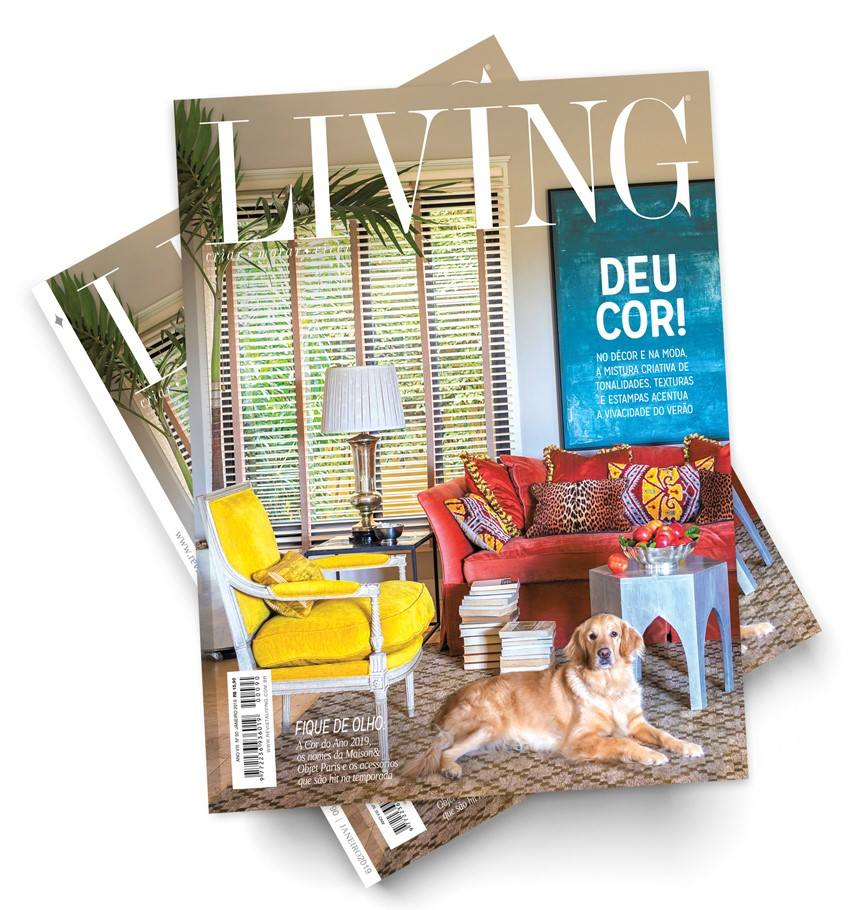 Capa Revista Living!