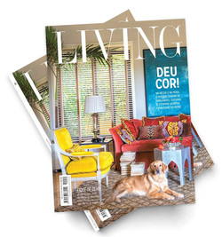 Capa Revista Living!